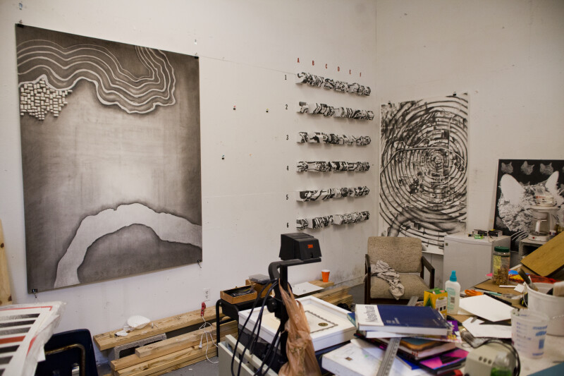 Artist's Workspace #1