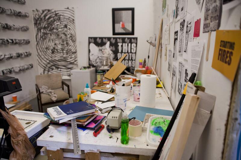 Artist's Workspace #2