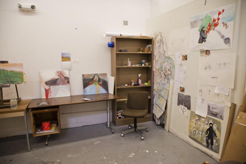 Artist's Workspace #3