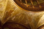 Artwork above the Ferdinand de Soto Door of the Rotunda