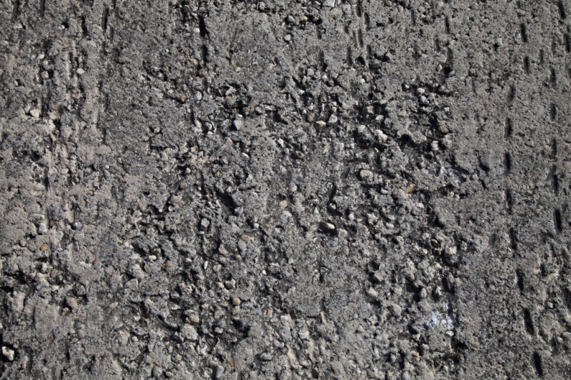 Asphalt with Rough Texture