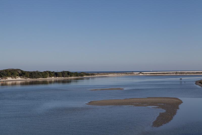 Atlantic Ocean from Fort Matanzas Tower