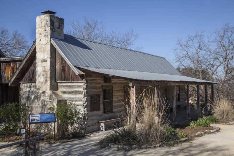 Auld House at the San Antonio Botanical Garden