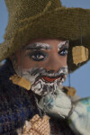 Australian Swagman - Handcrafted with Cork Hat (Close-Up)