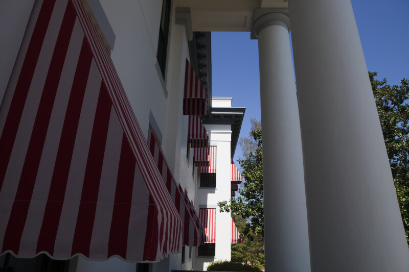 Awnings at Old State Capitol