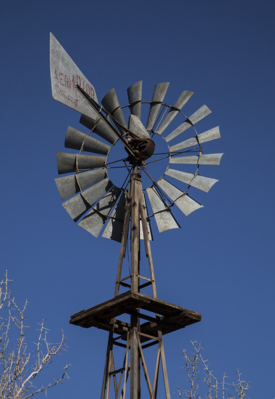 Back of a Windmill