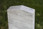 Back of Confederate Gravestone