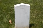 Back of Confederate Headstone