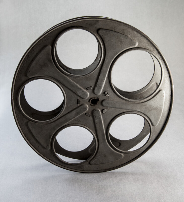 Back View of a Film Reel