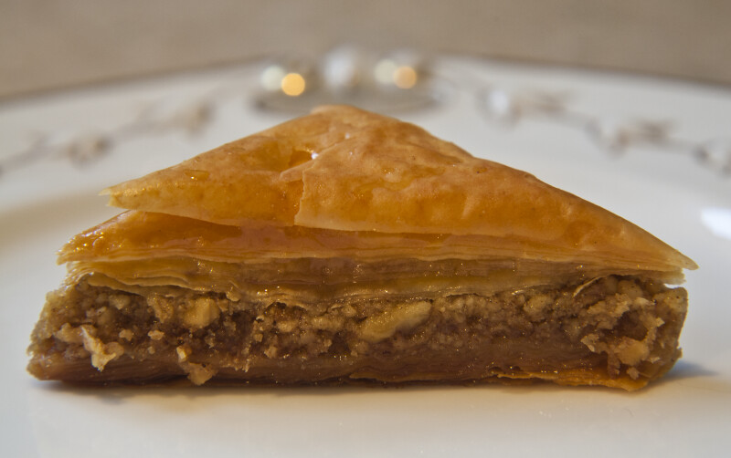 Baklava Close-Up