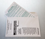 Ballot Secrecy Sleeve and Return Envelope