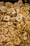 Banana Chips at the Spice Bazaar in Istanbul, Turkey