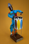 Barbados - Handcrafted Steel Drum Player (Full View)