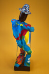 Barbados - Handmade Steel Drum Player (Back View)