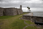 Barbette Arcs near the Seawall of Castillo de San Marcos