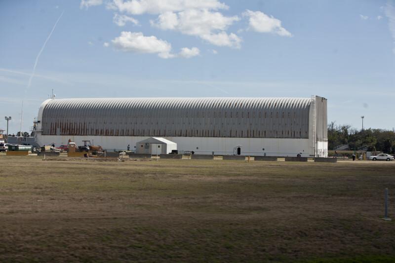 Barge at NASA