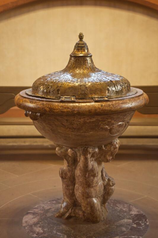 Baroque Baptismal Font