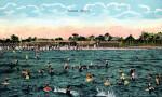 Bathing at Sunset Beach