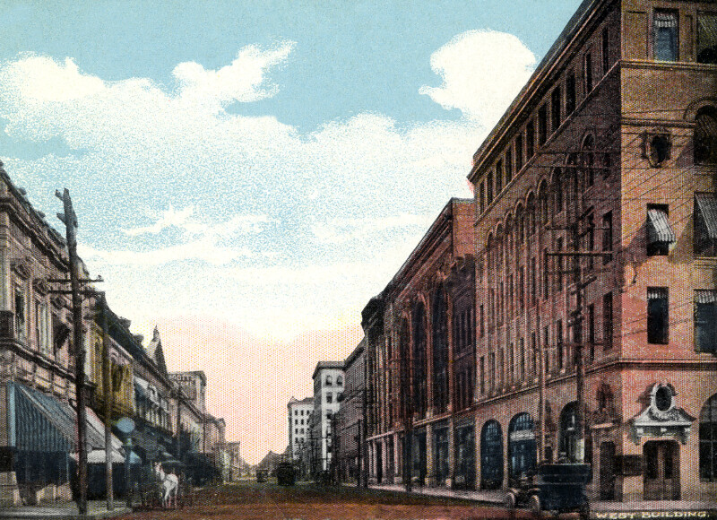 Bay Street, East of Laura Street