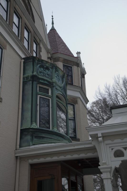 Bay Window in Bronze