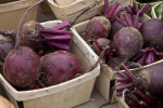 Beets in Small, Wooden Baskets