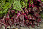 Beets on Display at an Outdoor Market in Kusadasi