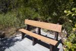 Bench at Biscayne National Park