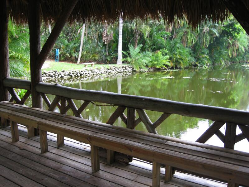 Bench on Bridge