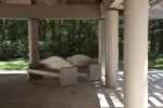 Benches in Pavilion