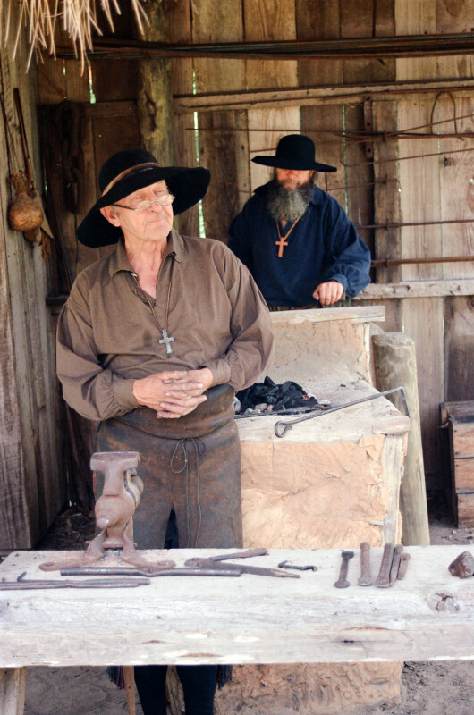 Blacksmith and Assistant