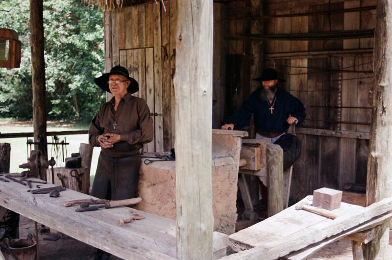 Blacksmithing Demonstration