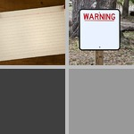 Blank Signs photographs