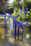Blown Glass Herons