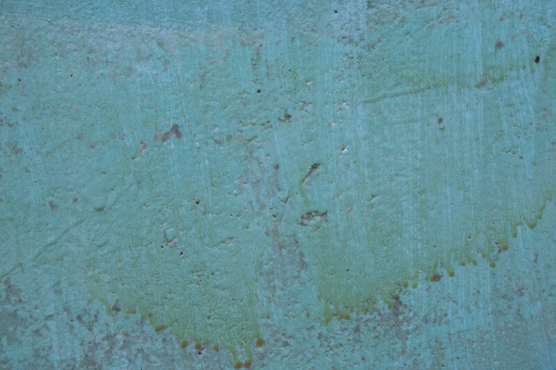 Blue-Green Concrete