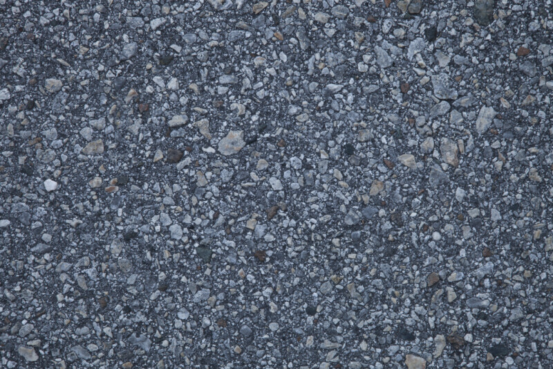 Blue-Grey Crushed Stone Pavement