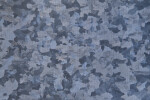 Blue-Grey Galvanized Metal