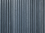 Blue-Grey Vertical Paneling