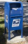 Blue Mail Box