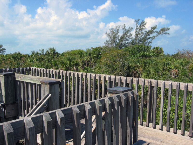 Boardwalk and Railing