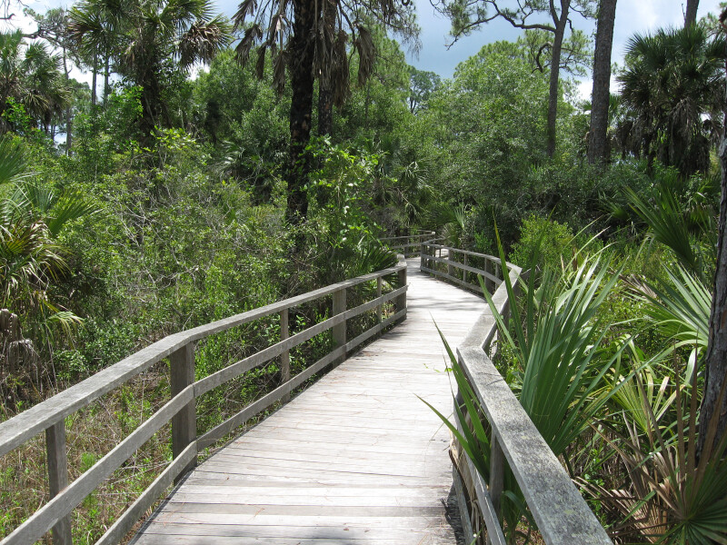 Boardwalk at Corkscrew