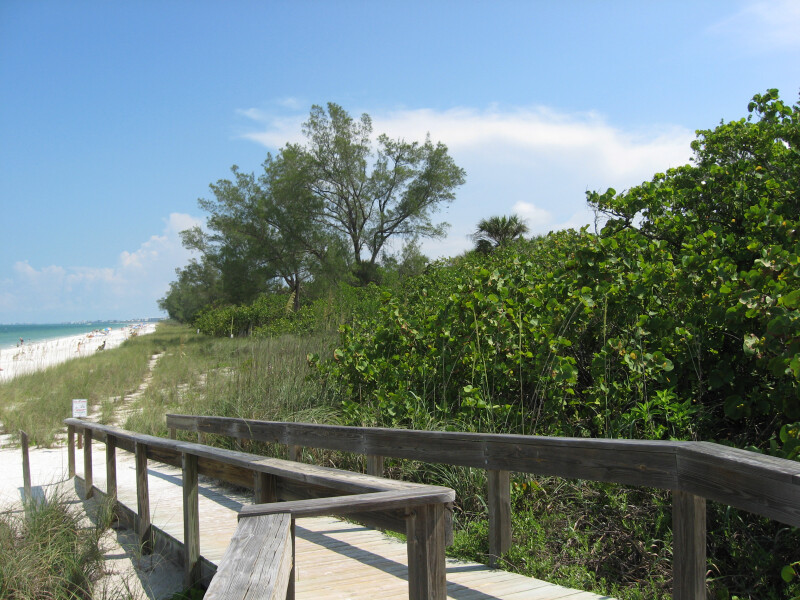 Boardwalk Ramp to Beach