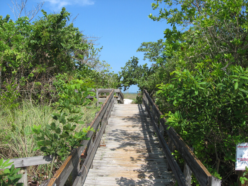 Boardwalk Ramp