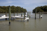Boat Dock at the Flamingo Marina of Everglades National Park