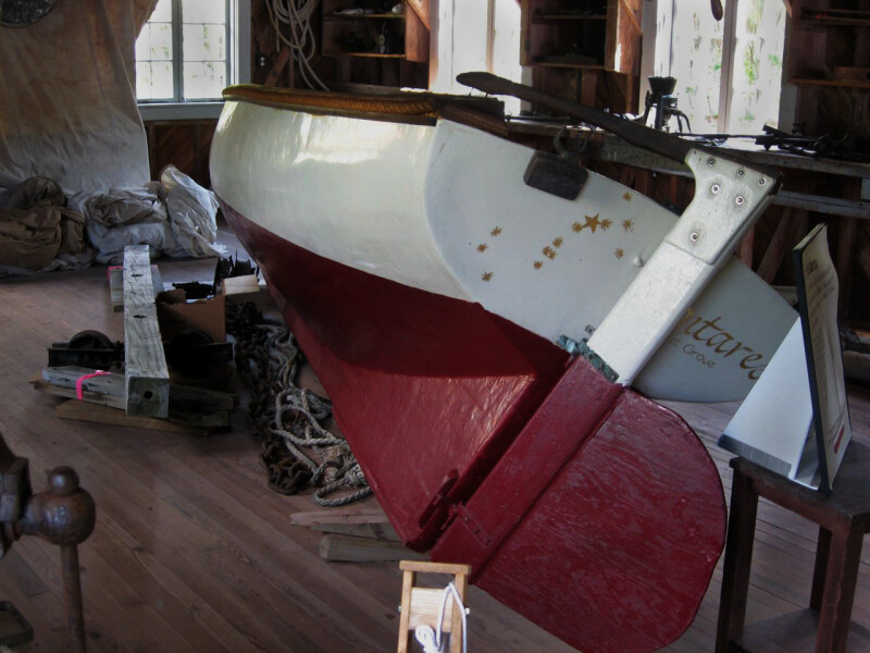 Boat in Boathouse
