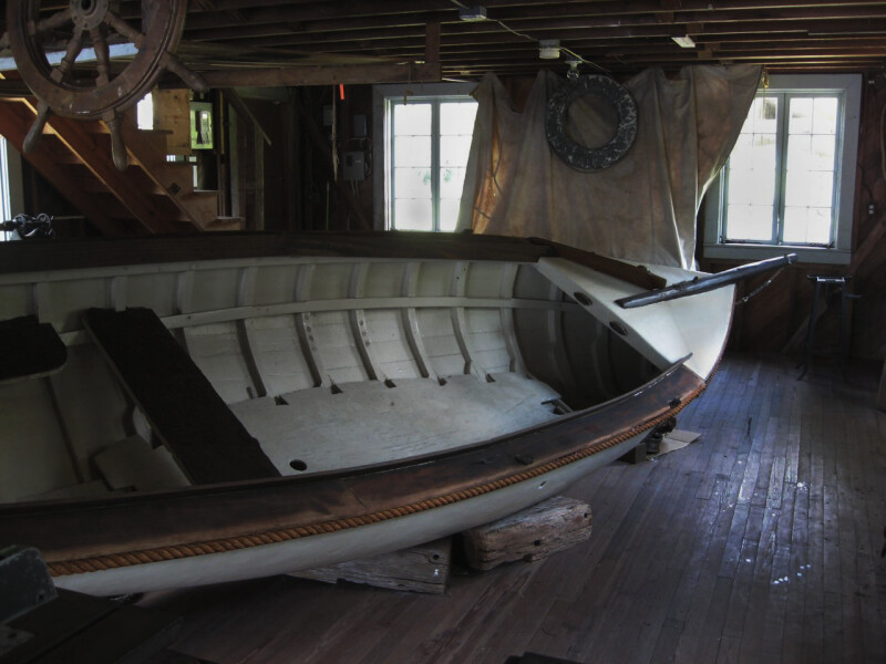 Boat on Floor