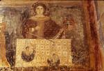 Bominaco, Oratory of San Pellegrino, St. Michael weighing souls