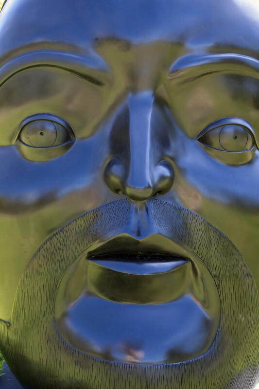 Botero Bronze Head