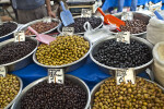 Bowls of Various Types of Olives
