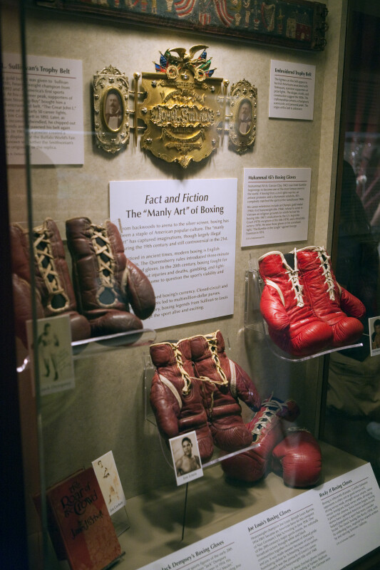 Boxing Exhibit