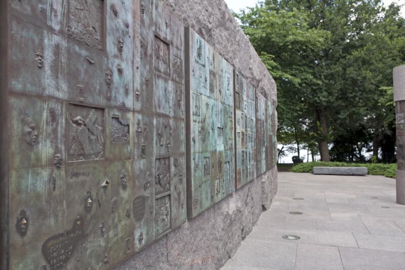 Braile reliefs